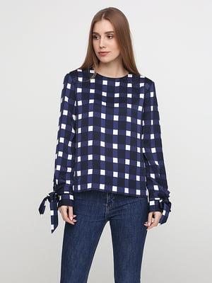Блуза темно-синяя | 5280095