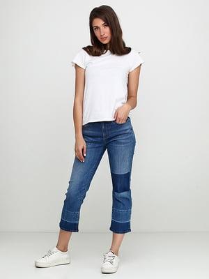 Капрі сині джинсові | 5280141