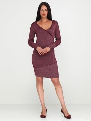 Сукня вишневого кольору | 5280213