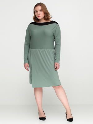Сукня сіро-зелена | 5280219