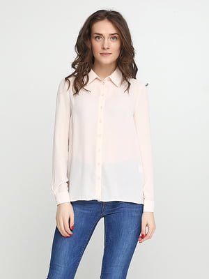 Рубашка бежевая   5280349