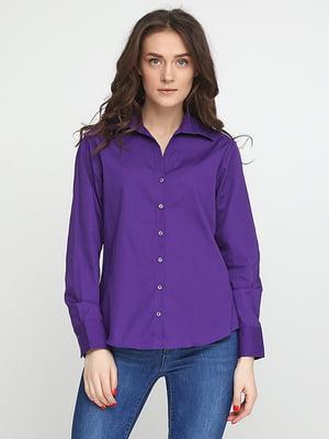 Рубашка фиолетовая | 5280355