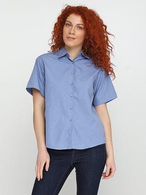 Рубашка голубая | 5280356