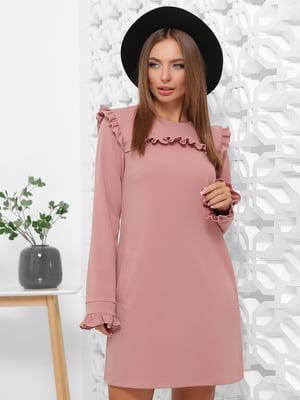Платье цвета пудры | 5280769
