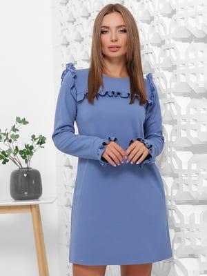 Сукня джинсового кольору | 5280770