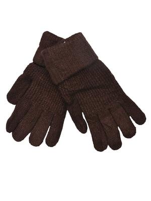 Перчатки коричневые | 5281394