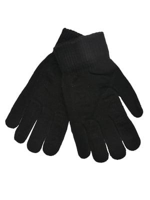 Рукавички чорні | 5281425