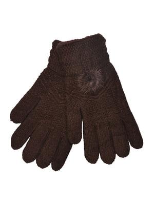 Перчатки коричневые | 5281433