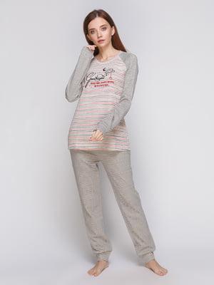 Пижама: кофта и брюки | 5279566