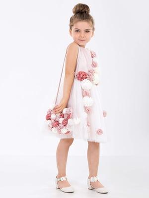 Платье цвета пудры | 4222919