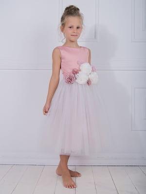 Платье цвета пудры | 4897837