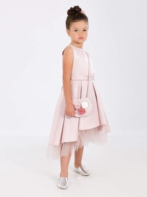 Платье цвета пудры | 5219265