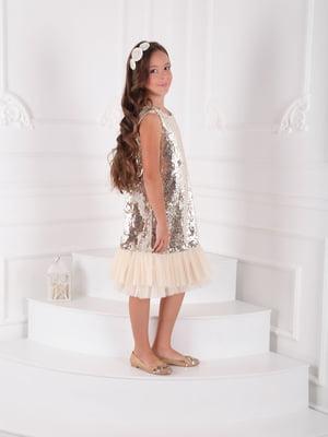 Платье золотистого цвета | 5219266
