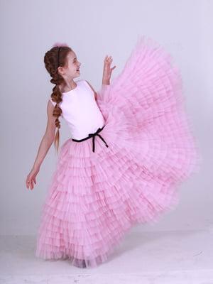 Платье розовое | 5219272