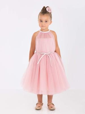 Сукня кольору пудри | 5219276