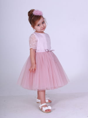 Платье цвета пудры | 5219285