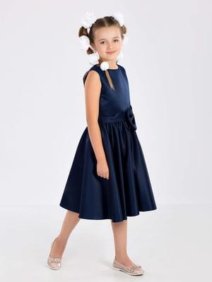 Платье темно-синее | 5281495