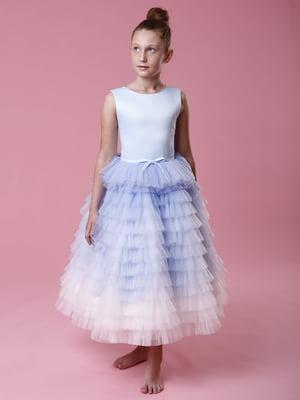 Платье голубое | 5281497