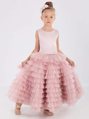 Платье цвета пудры | 5281499