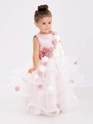 Сукня кольору пудри | 5281514