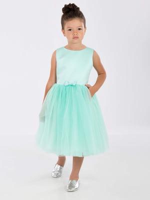 Платье мятного цвета | 5281519