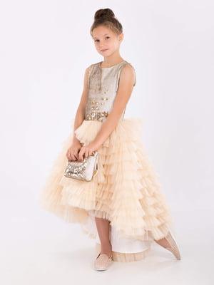 Платье золотистого цвета | 5281520