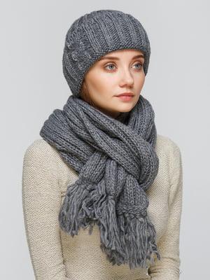 Комплект: шапка и шарф   5259038