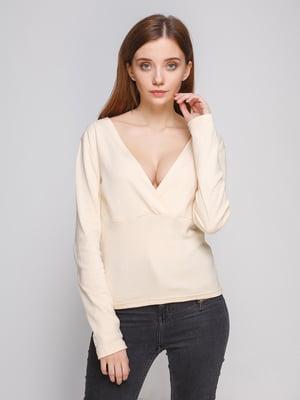Блуза молочного кольору - Dujour Paris - 2953630