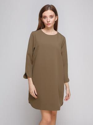 Сукня кольору хакі   4775878
