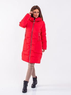 Пальто красное | 5281666