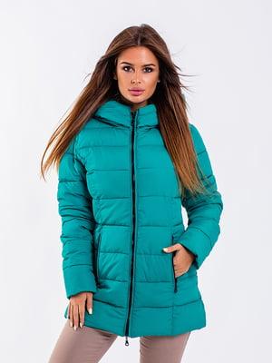 Куртка бирюзовая | 5281674