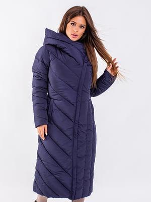 Пальто синє   5281677