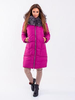 Пальто малиновое | 5281667