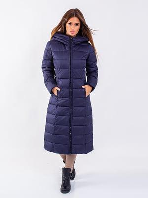 Пальто темно-синее | 5281670