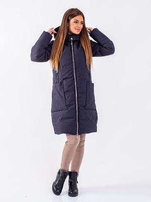 Пальто антрацитового кольору | 5281657