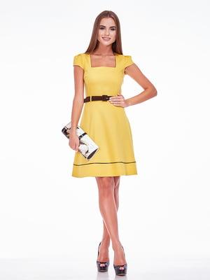 Сукня гірчичного кольору   5281892