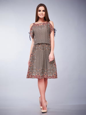 Сукня коричнева | 5281940