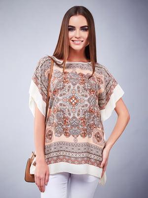 Блуза светло-бежевая | 5281943