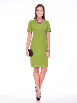 Платье салатовое | 5281956