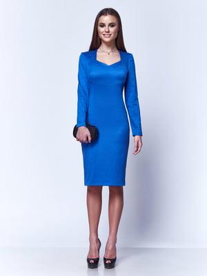 Сукня кольору ультрамарин | 5281965