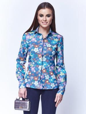Блуза голубая | 5281971
