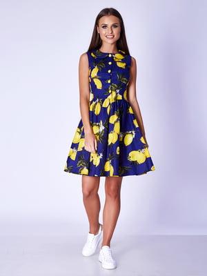 Сукня темно-синя | 5281998