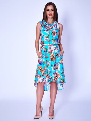 Платье бирюзовое | 5282027