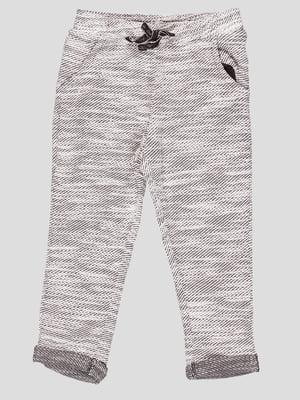 Штани чорно-білі | 5280560