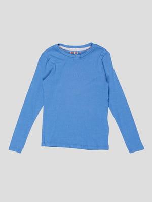 Лонгслів синій | 5280548