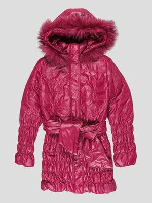 Куртка вишневого кольору | 5280566
