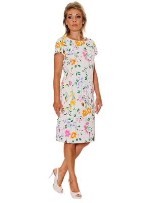 Платье в цветочный принт   5282456