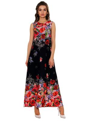 Платье в цветочный принт   5282460