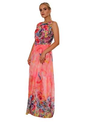 Платье в цветочный принт | 5282466