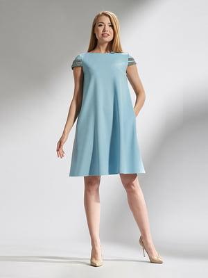 Платье голубое | 5115706